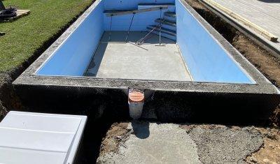 Construction d'une piscine sur mesure 7m x 3.50m à Saint-Hilaire-de-la-Côte