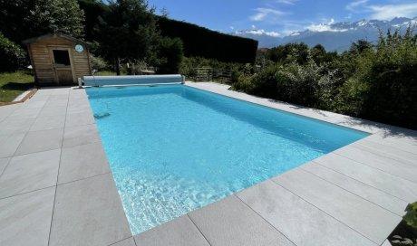 Rénovation piscine 10m x 5m à Saint Ismier
