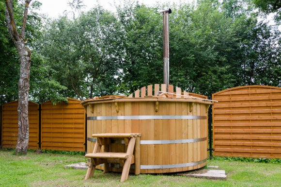Installation bain nordique bois