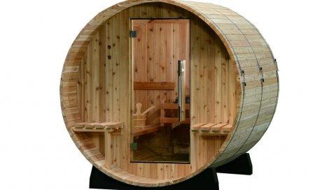 Nouveau sauna HARVIA : le tonneau