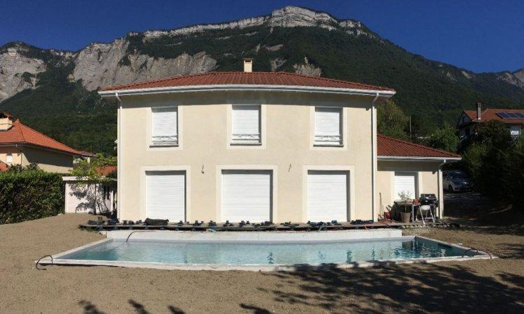 Construction piscine 10m x 4m à Saint Ismier près de Genoble