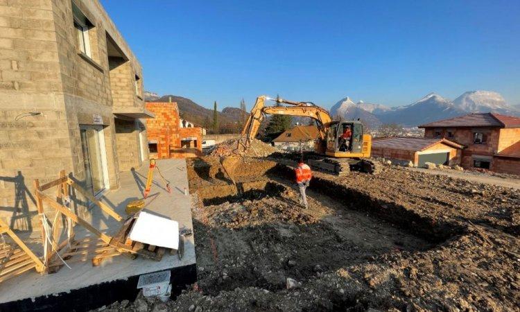 Construction d'une nouvelle piscine 6m x 3m à Seyssins
