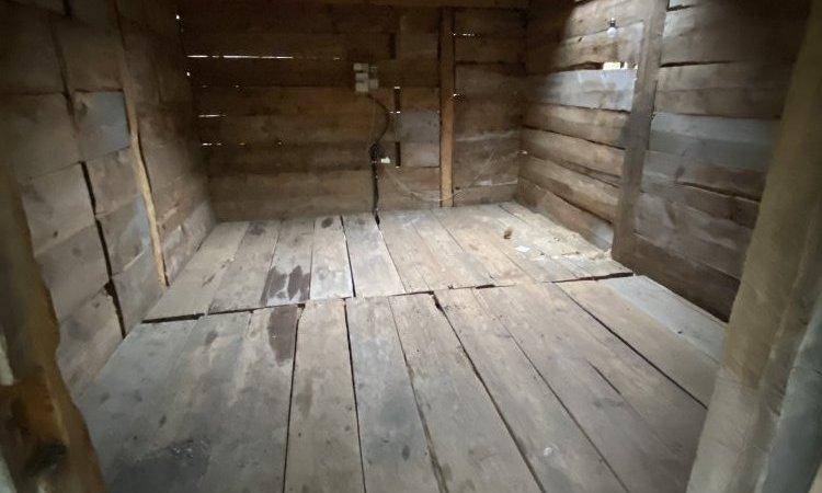 Remplacement de l'ancien plancher